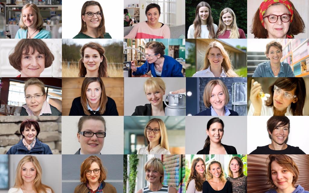 Jahre 7 frauen verändern sich alle Frauenpower: Klimaschutzziele