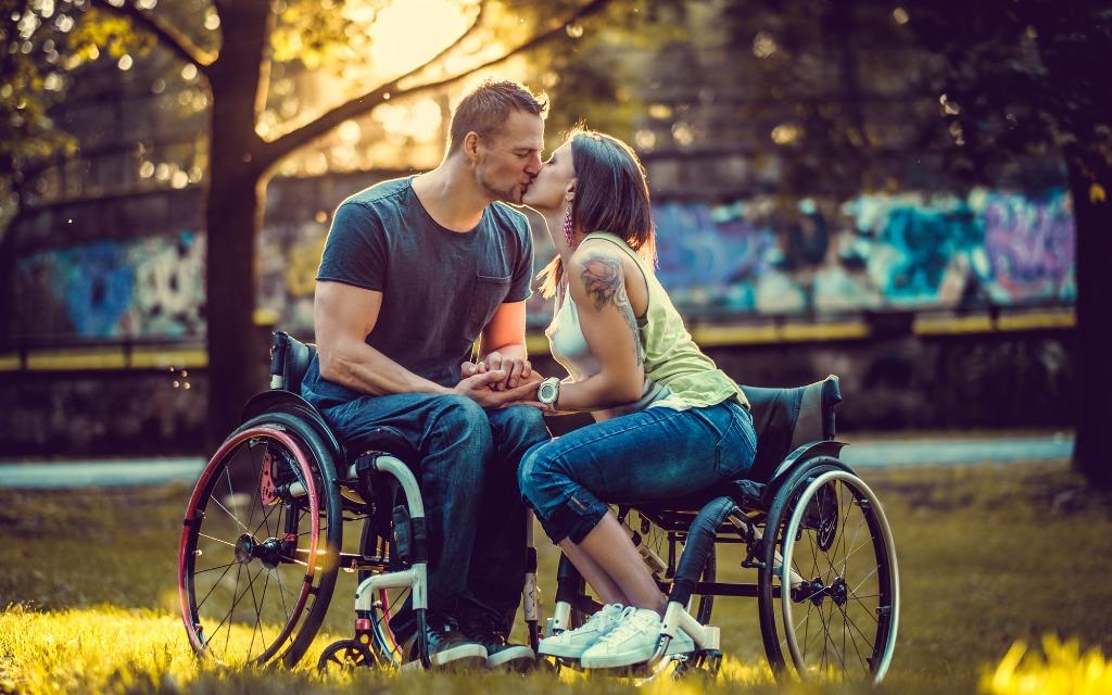 Sex Trotz Rollstuhl