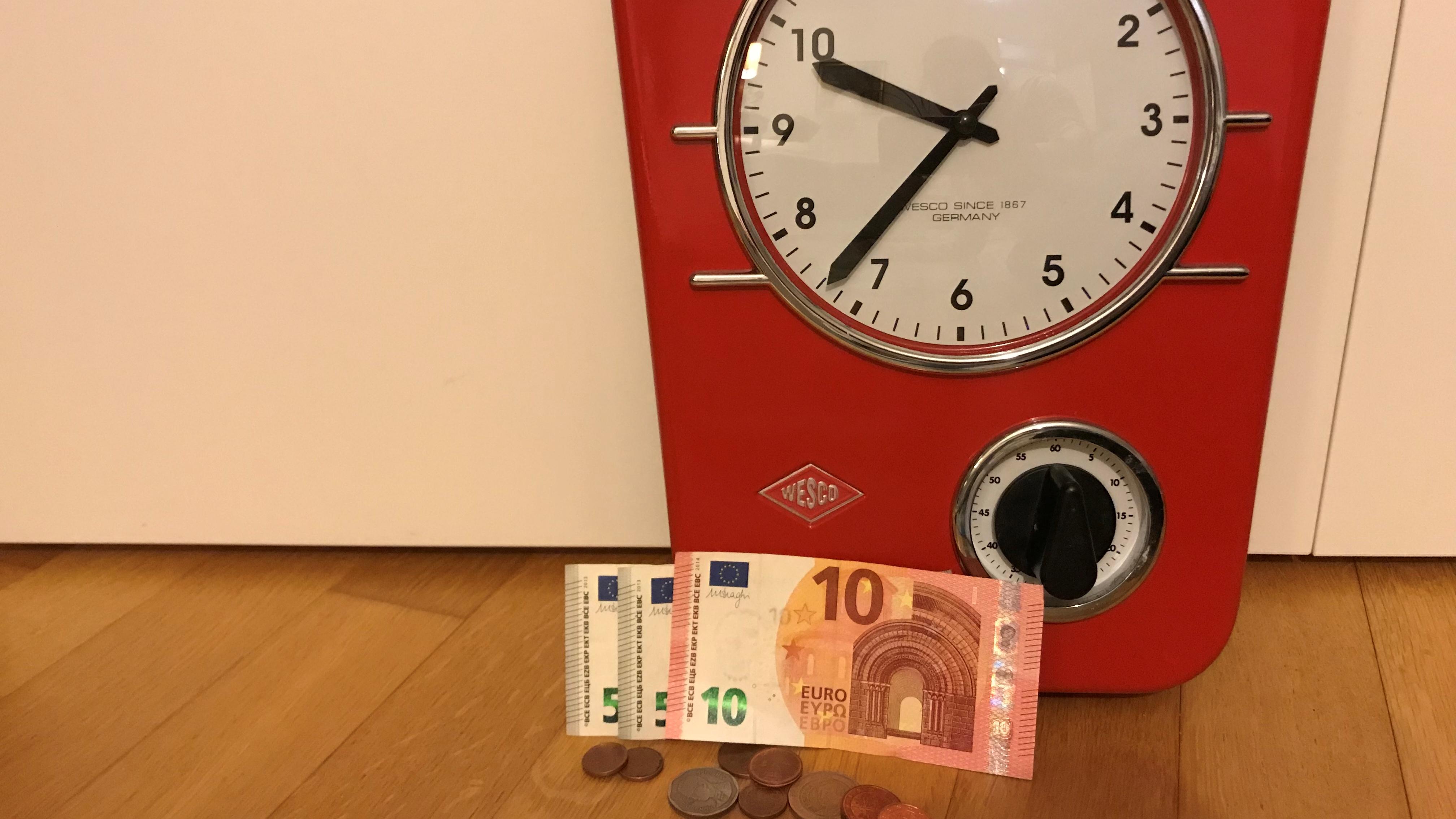 Zeit ist Geld – und wir brauchen beides! Arbeitszeit
