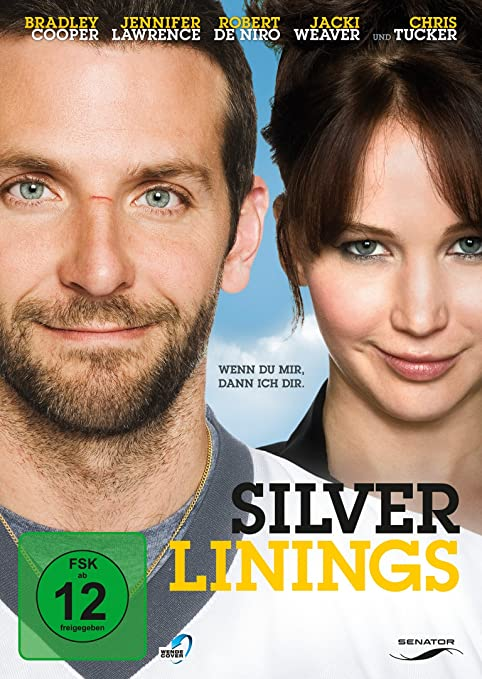 "Filmcover ""Silver Linings"" mit Bradley Cooper und Jennifer Lawrence"