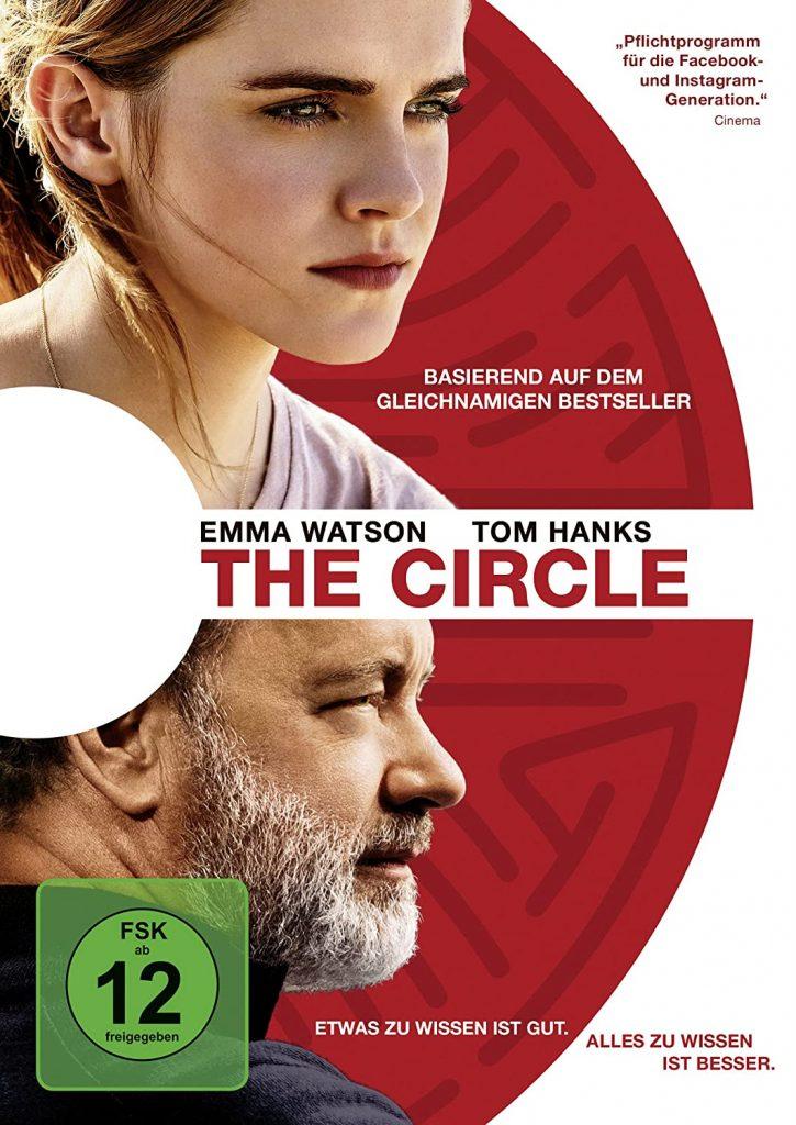 """Cover von """"The Circle"""" mit Emma Watson und Tom Hanks"""